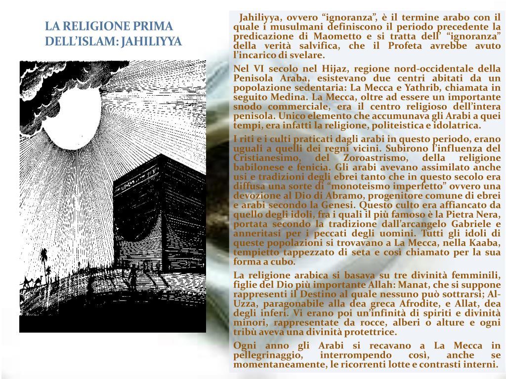 la religione prima dell islam jahiliyya