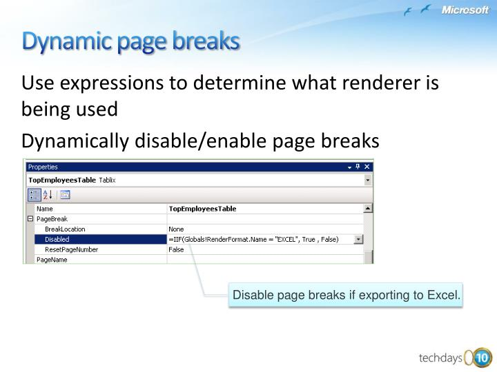 Use expressions to determine what renderer is being used
