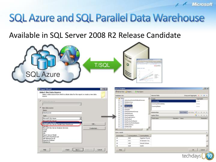 Available in SQL Server 2008 R2 Release Candidate