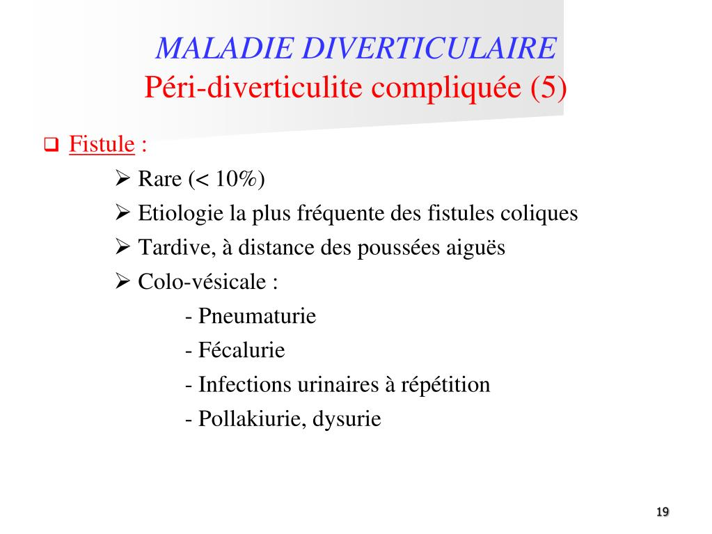 PPT - DIVERTICULOSE COLIQUE Diagnostic et complications ...