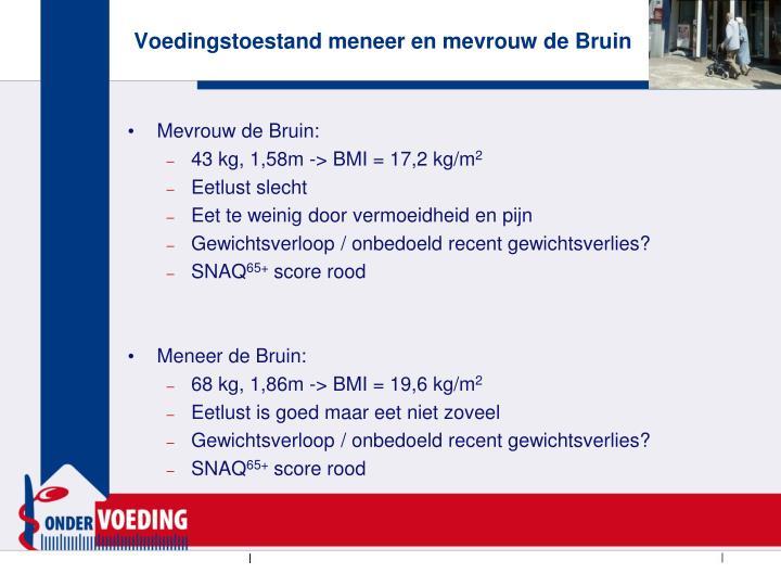 Mevrouw de Bruin: