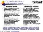 cdi case study intuit s party reference system