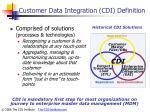 customer data integration cdi definition