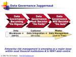 data governance juggernaut