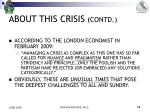 about this crisis contd5
