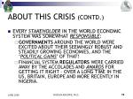 about this crisis contd7