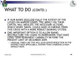what to do contd1
