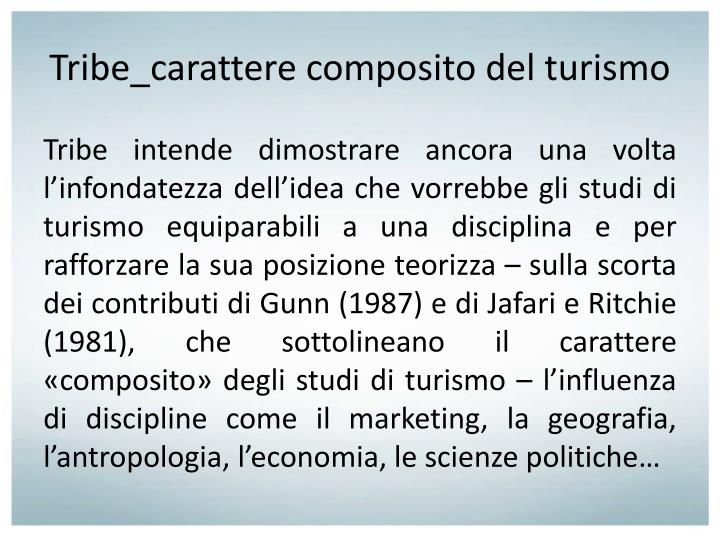 Tribe_carattere
