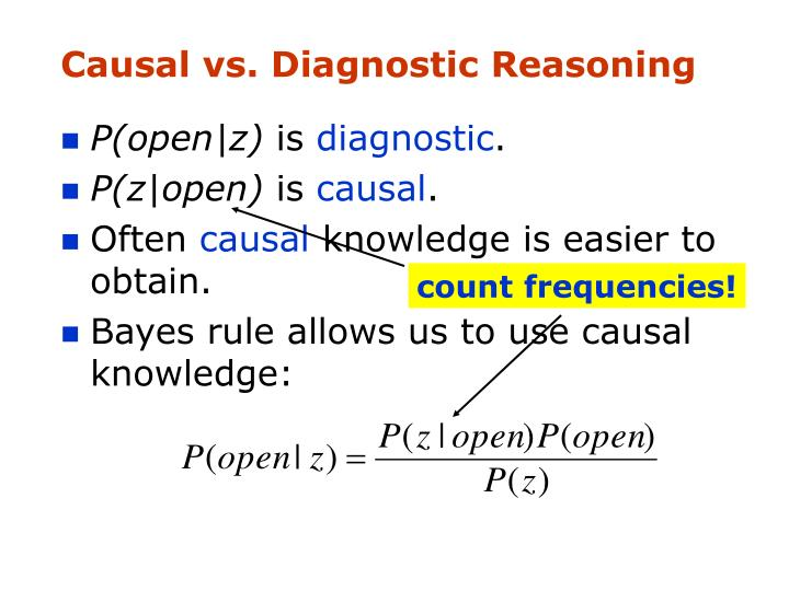 count frequencies!
