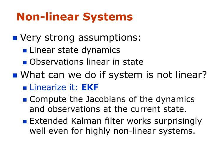 Non-linear Systems