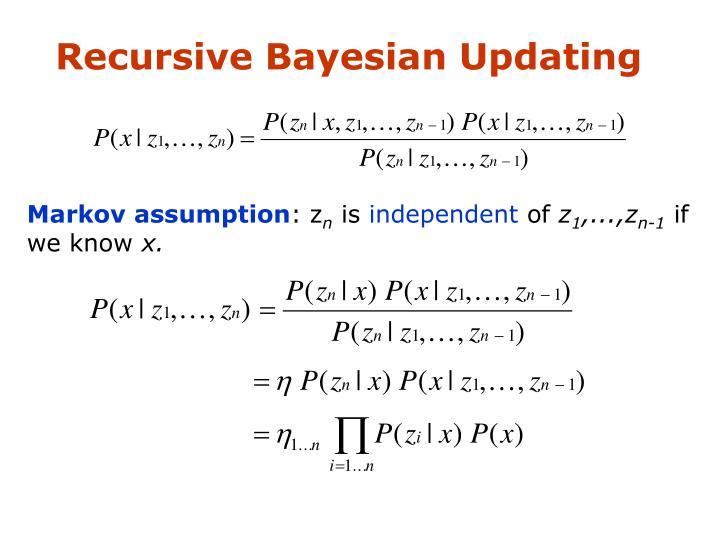 Recursive Bayesian Updating