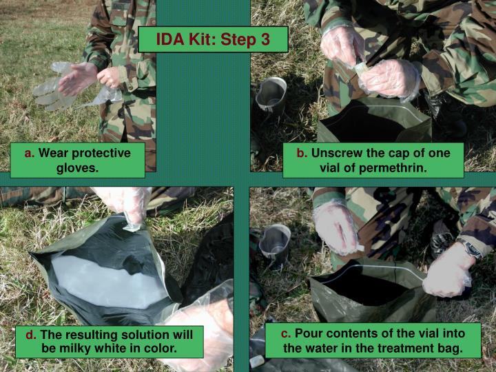 IDA Kit: Step 3