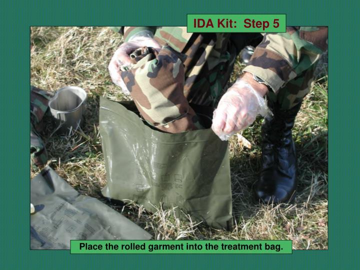 IDA Kit:  Step 5