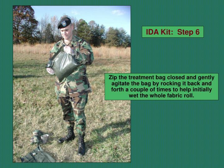 IDA Kit:  Step 6