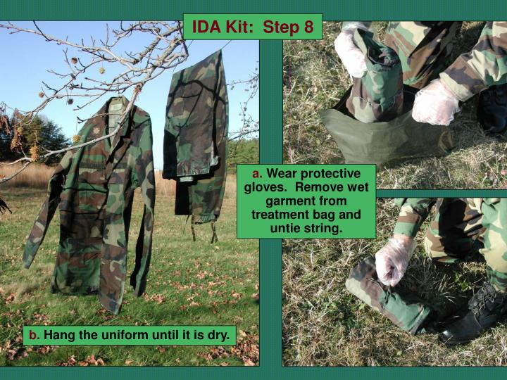IDA Kit:  Step 8