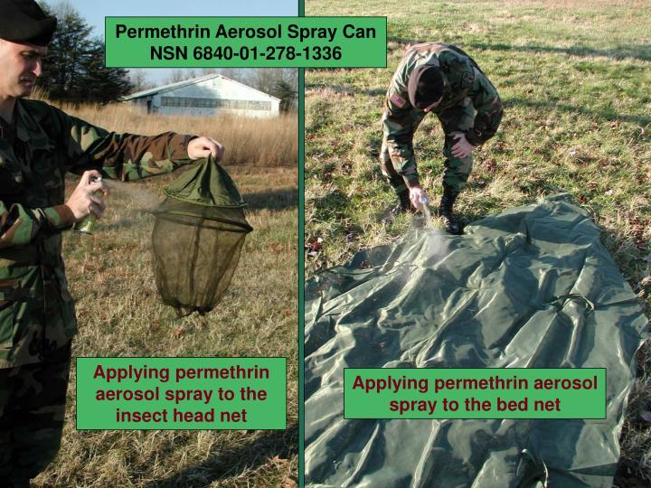 Permethrin Aerosol Spray Can NSN 6840-01-278-1336