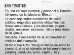 1ra timoteo