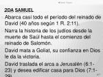 2da samuel
