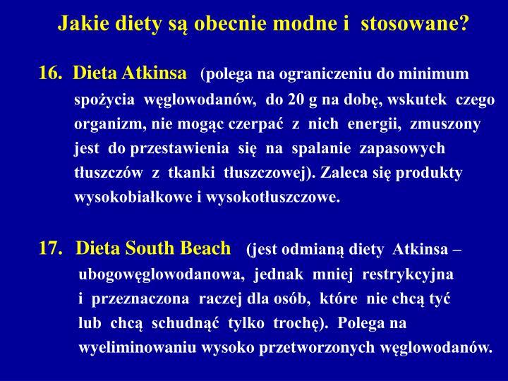 Jakie diety są obecnie modne i  stosowane?