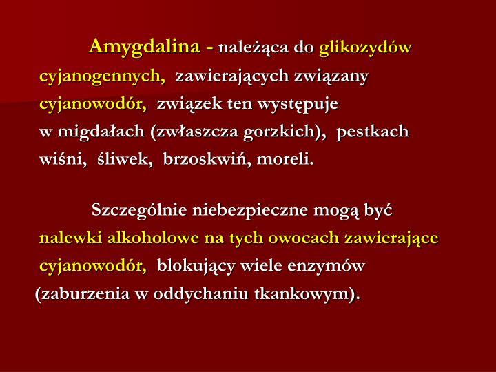 Amygdalina -