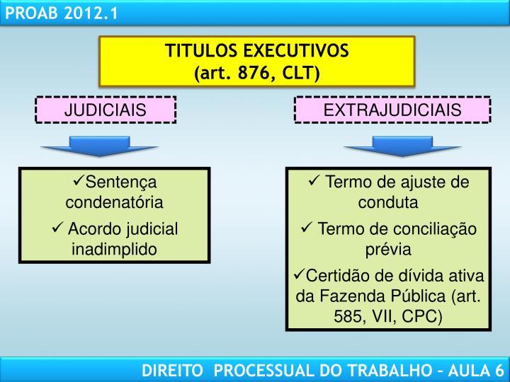 TITULOS EXECUTIVOS