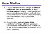 course objectives2
