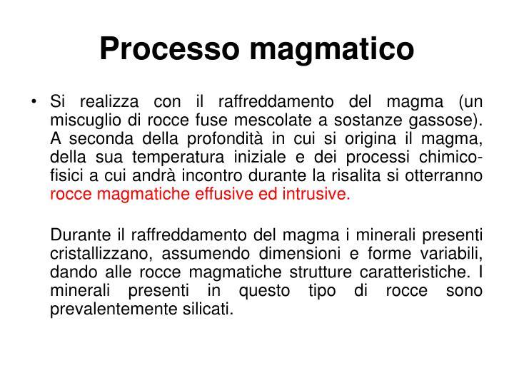 Processo magmatico