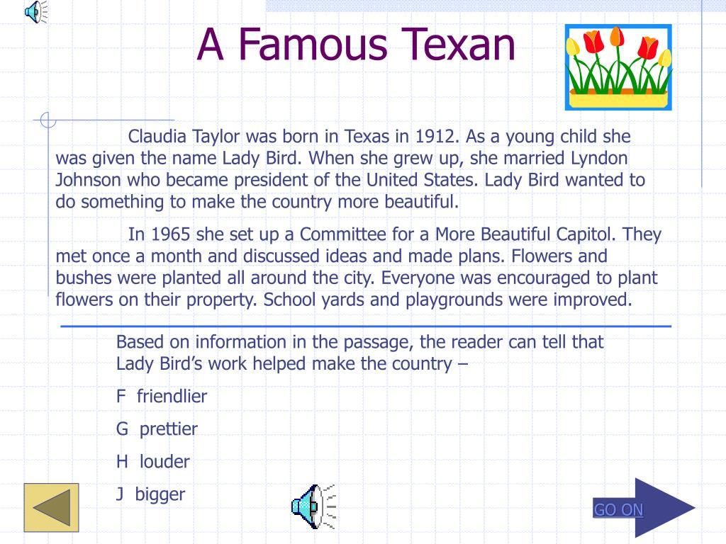 A Famous Texan