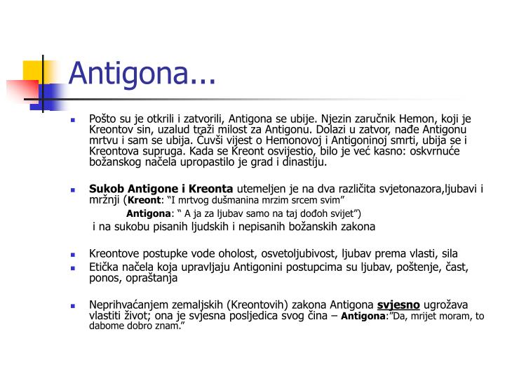 Antigona...