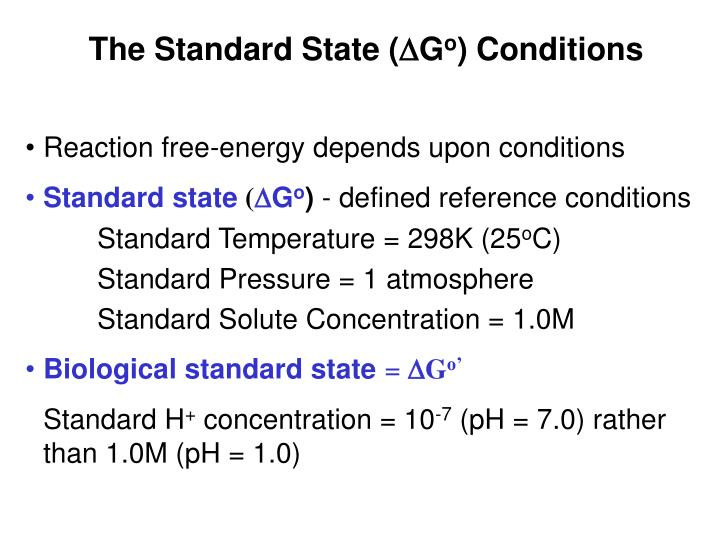 The Standard State (