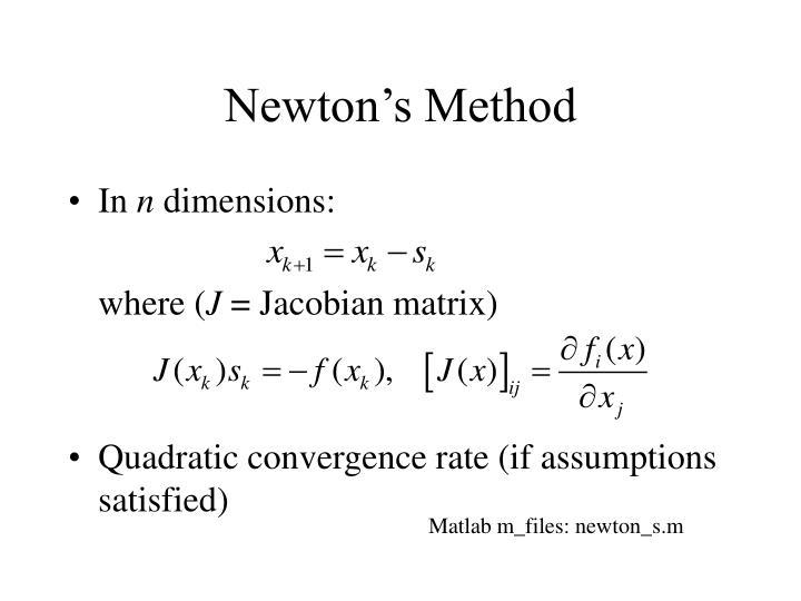 Newton's Method