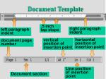 document template18
