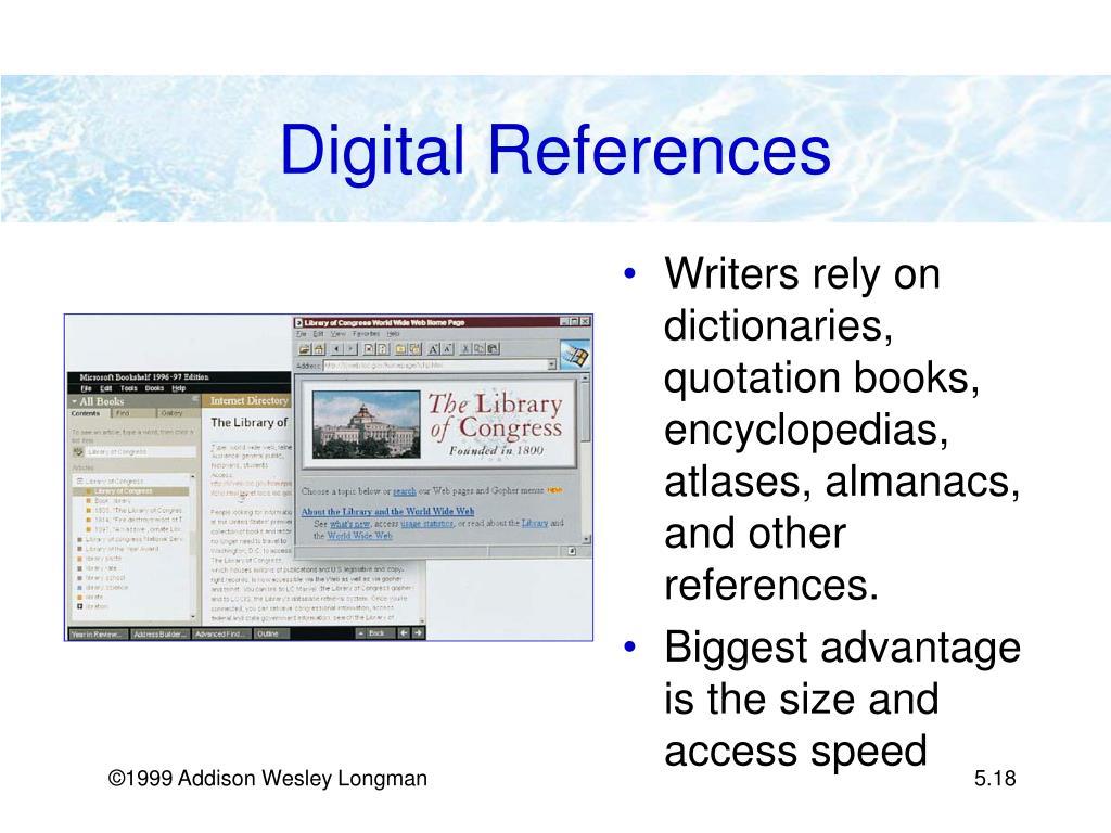 Digital References