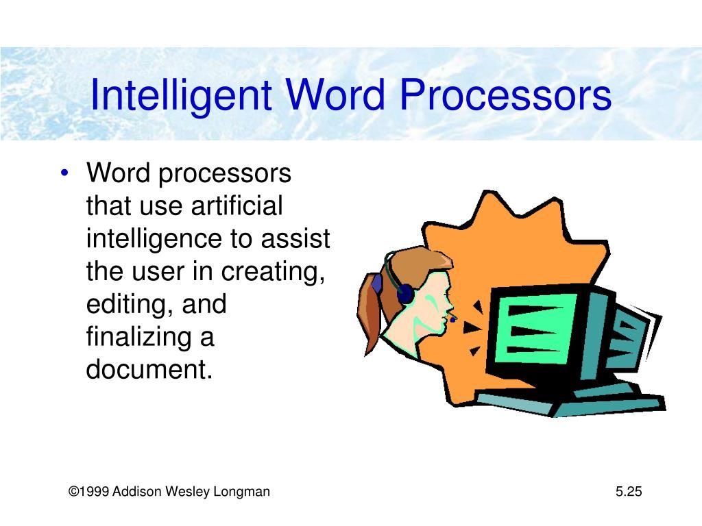 Intelligent Word Processors