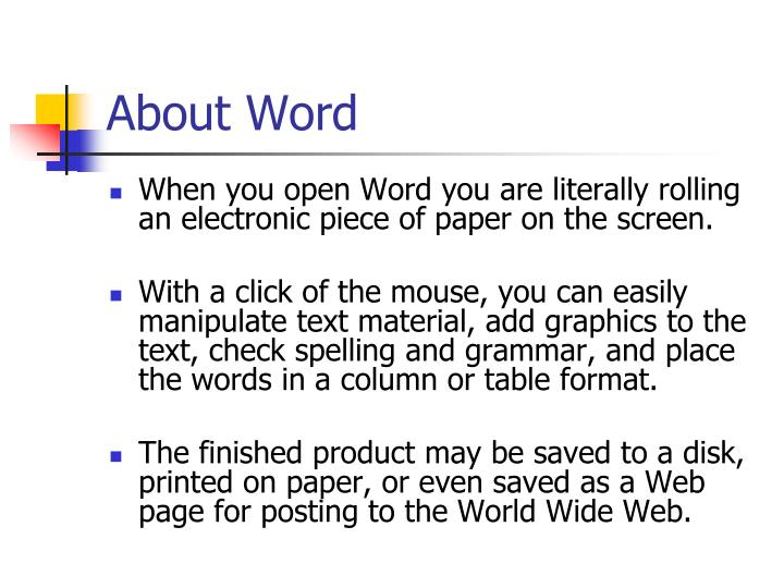 About word3