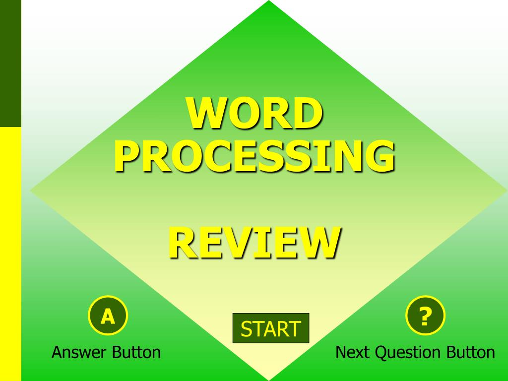 word processing review l.