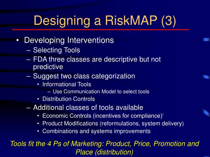 Designing a RiskMAP (3)