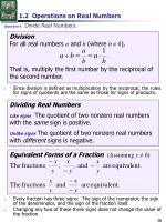 1 2 operations on real numbers4