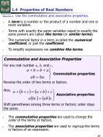 1 4 properties of real numbers3
