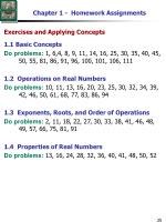 chapter 1 homework assignments