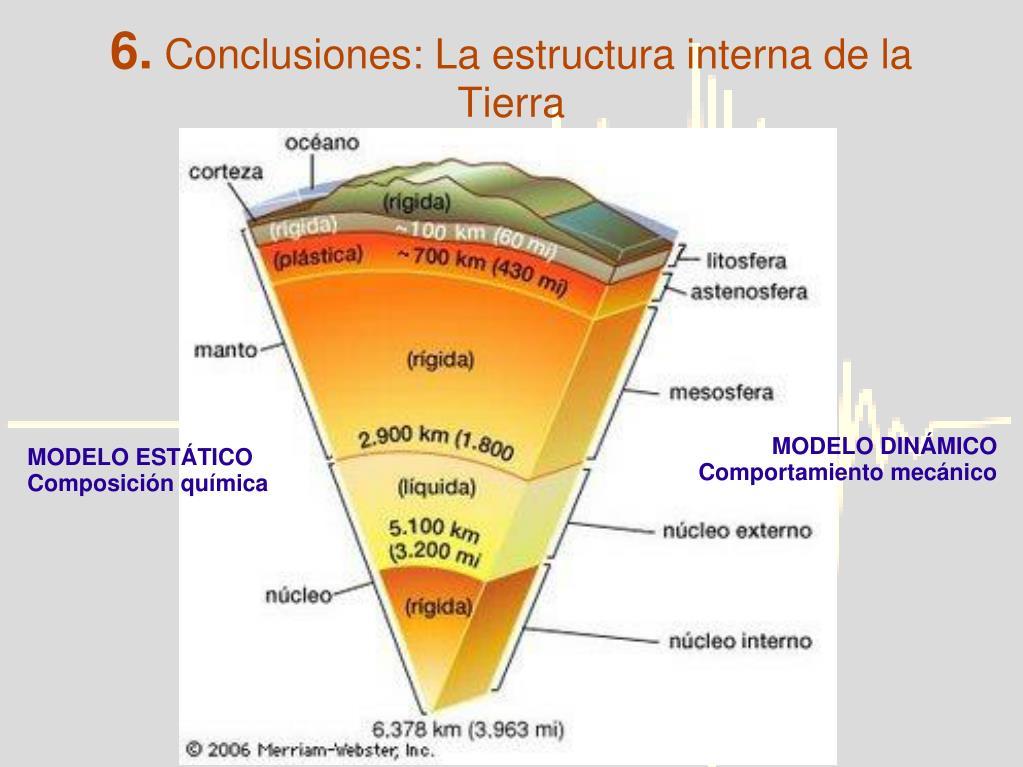 Ppt Ondas Sísmicas Y Estructura Interna De La Tierra