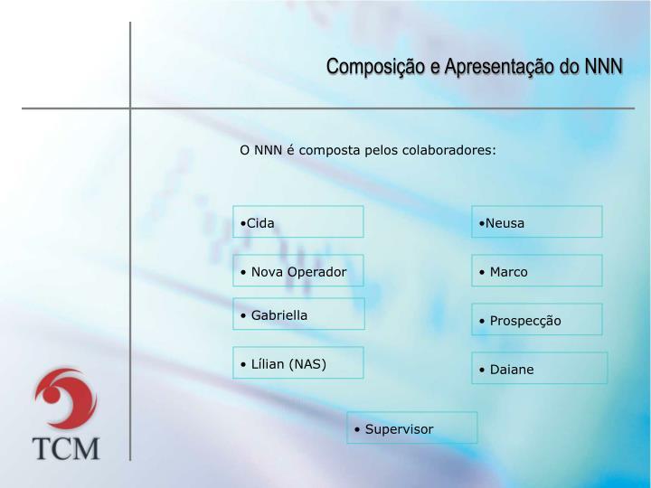 Composição e Apresentação do NNN