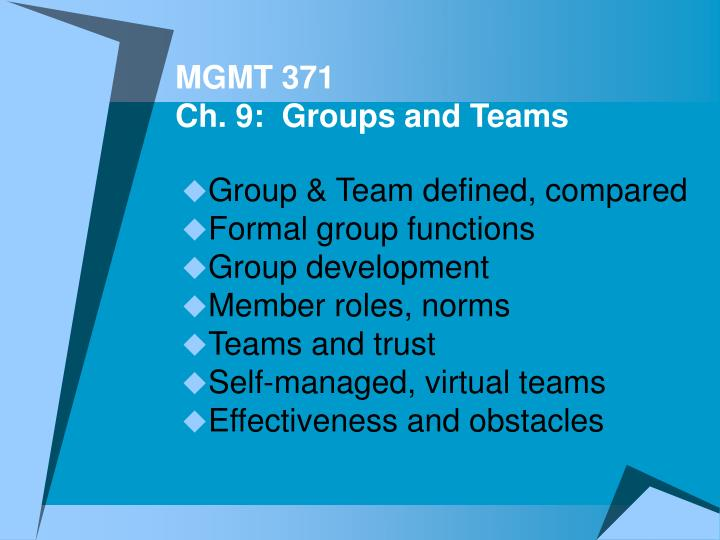 group vs team Your first-ever business e-coach: moulding your people into a pro-active and productive team the purpose of assembling a team is to accomplish bigger goals than any.