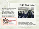 hsbc character