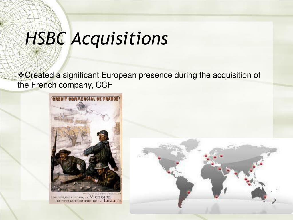 HSBC Acquisitions