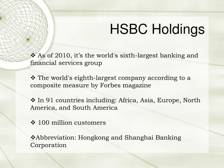 Hsbc holdings3