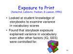 exposure to print senechal legevre hudson lawson 19961