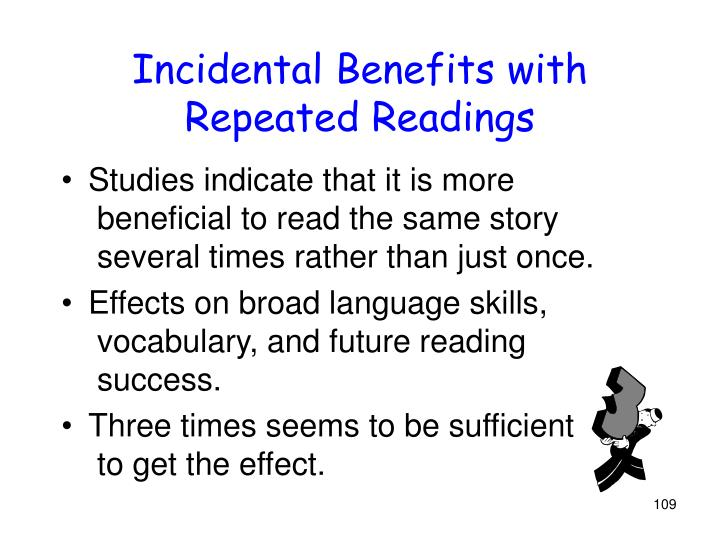 Incidental Benefits with