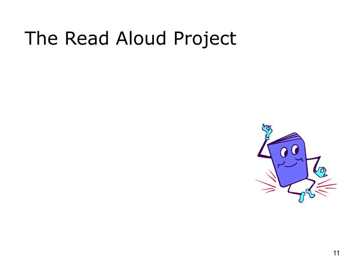 The Read Aloud Project