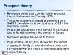prospect theory1